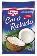 Kit c/ 12un Coco Ralado 100g