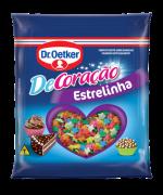 Kit c/ 12un Confeito  Estrelinha 80g