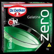 Kit c/ 12un Gelatina Zero Limão 12g