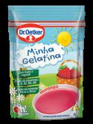 Kit c/ 12un Minha Gelatina Morango 75g