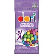 Kit c/ 15un Amendoim Colorido 70g - Dori