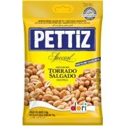 Kit c/ 15un Amendoim Pettiz Special Torrado Salgado Sem Pele 150g - Dori