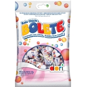 kit c/ 15un Bala Bolete Tutti Frutti  Recheada 150g