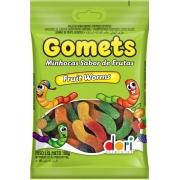 kit c/ 15un Minhocas  Frutas Gomets 100g