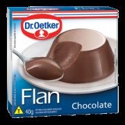 Kit c/ 18un Flan de Chocolate 40g
