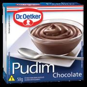 Kit c/ 18un Pudim Chocolate 50g