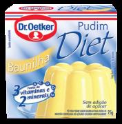 Kit c/ 18un Pudim Diet de Baunilha 25g