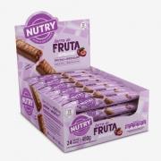 Kit c/3 Display Barra de Fruta de Ameixa com 24 unidades - Nutry