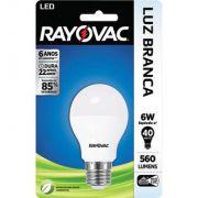 Lâmpada LED 6W Branca BIVOLT - Rayovac