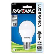 Lâmpada LED 8W Branca BIVOLT - Rayovac
