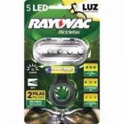 Lanterna Bicicleta Dianteira com 2 Pilhas AAA - Rayovac