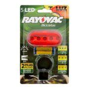 Lanterna Bicicleta Traseira com 2 Pilhas AAA - Rayovac