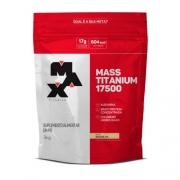Mass Titanium Hipercalórico de Baunilha 17500 3kg - Max Titanium
