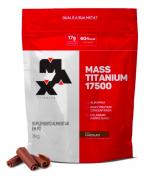 Mass Titanium Hipercalórico de Chocolate 17500 3kg - Max Titanium