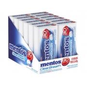 Pastilha Mentos Clear Breath Peppermint C/ 12un