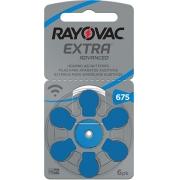 Pilha Auditiva Tamanho 675 - Rayovac Extra Advanced