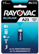 Pilha Especial V23GA - Rayovac