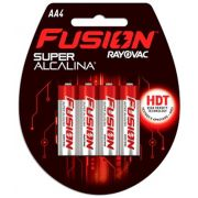 Pilha Fusion AA com 4 - Rayovac