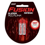 Pilha Fusion AAA com 2 - Rayovac