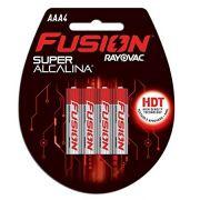 Pilha Fusion AAA com 4 - Rayovac