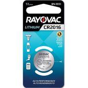 Pilha Especial CR2016 - Rayovac