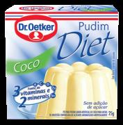 Pudim Diet de Coco 25g