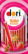 Regaliz Tubo Morango Recheado 70g