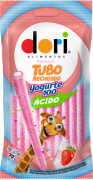 Regaliz Tubo Yogurte Ácido 70g