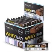 Whey Bar Low Carb Chocolate c/ 24 Und. 40G - Probiótica