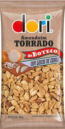 Amendoim de Boteco Lascas de Cebola 320g - Dori