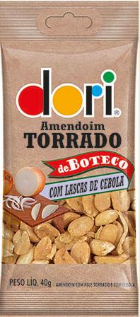 Amendoim de Boteco Lascas de Cebola 40g - Dori