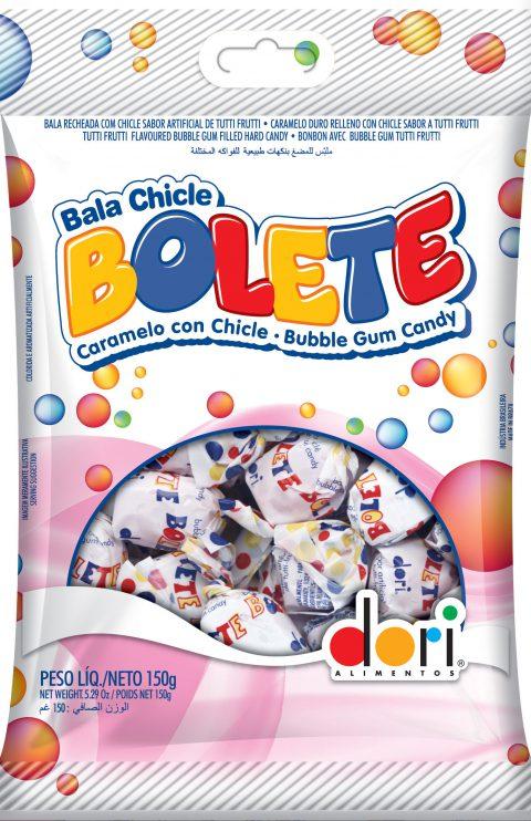 Bala Bolete Tutti Frutti  Recheada 150g