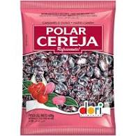 Kit c/ 2un Bala Polar Cereja 600g