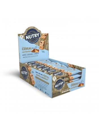 Barra de Cereal Muito + Castanha com 24 unidades - Nutry