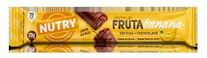 Barra de Fruta de Banana com 24 unidades - Nutry