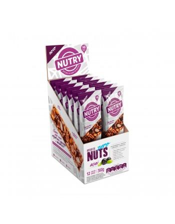Barra de Nuts Zero Açaí com 12 unidades - Nutry