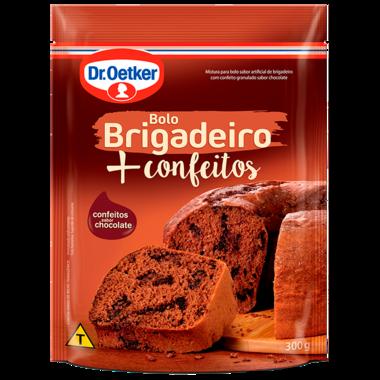 Bolo Brigadeiro + Confeitos 300g