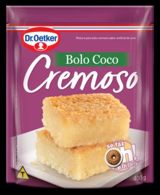 Bolo de Coco Cremoso 400g