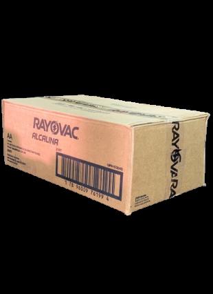 Caixa com 24 Cartelas AA Pequena Alcalina c/ 6un - Rayovac
