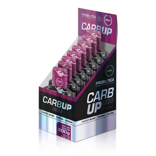 Carb-Up Gel Black  Açaí c/ guaraná c/ 10 sachês - Probiótica