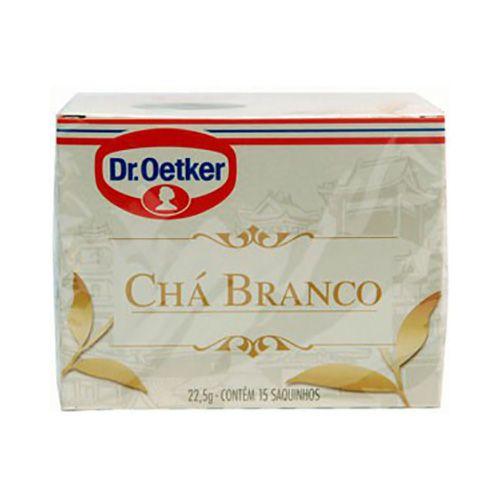 Chá Branco 15 sachês - Dr. Oetker