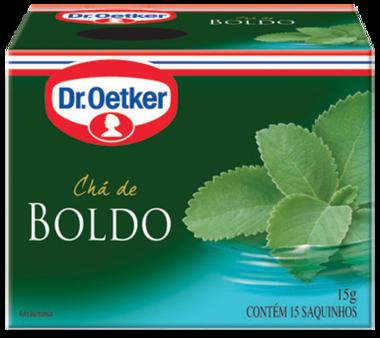 Chá de Boldo 15 sachês - Dr. Oetker