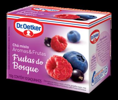 Chá de Frutas do Bosque 10 sachês - Dr. Oetker