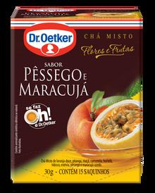 Chá de Pêssego & Maracujá 15 sachês - Dr. Oetker