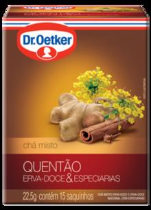 Chá de Quentão 15 sachês - Dr. Oetker