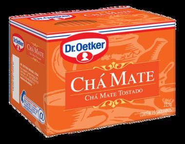 Chá Mate 15 sachês - Dr. Oetker
