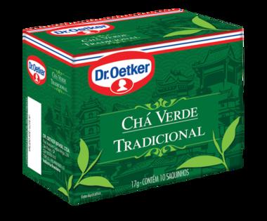 Chá Verde Tradicional 10 sachês - Dr. Oetker