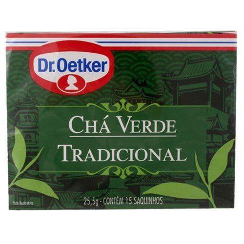 Chá Verde Tradicional 15 sachês - Dr. Oetker