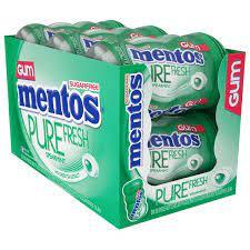 Chiclete Mentos Purefresh Wintergreen 92g