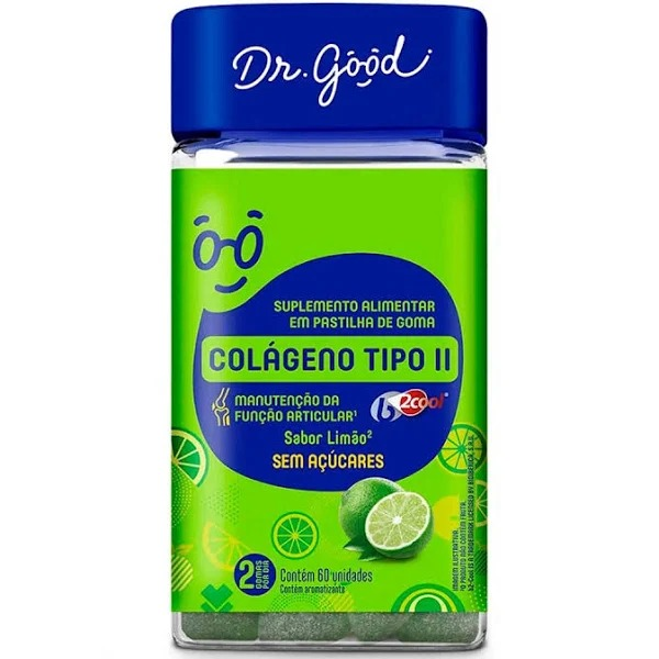 Colágeno Tipo II Diet c/ 30 Gomas Diet - Dr Good